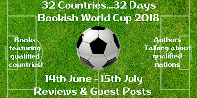 Bookish World Cup 2018 banner
