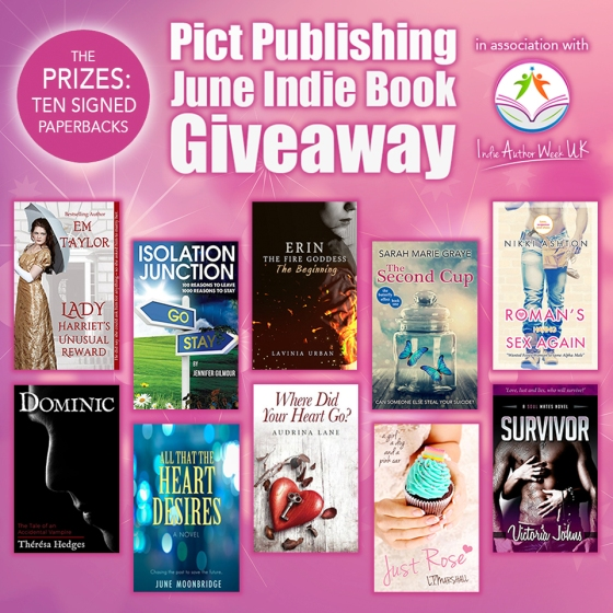 Pict Publishing June Indie Book Giveaway