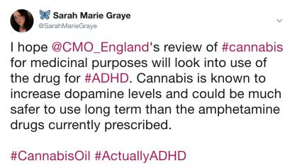 cannabis tweet